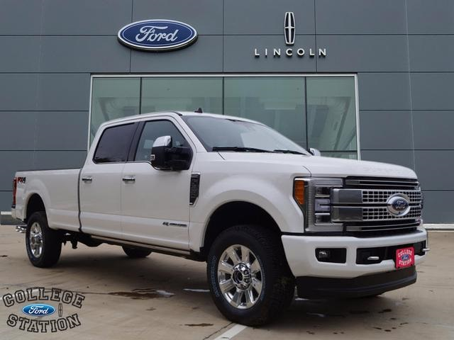 Ford Super Duty >> New 2019 Ford F 350 Super Duty Platinum 4d Crew Cab In College