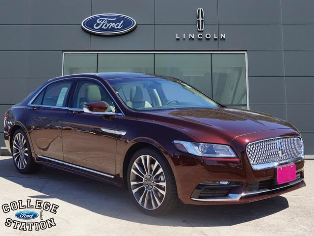 New 2018 Lincoln Continental Reserve 4d Sedan In College Station