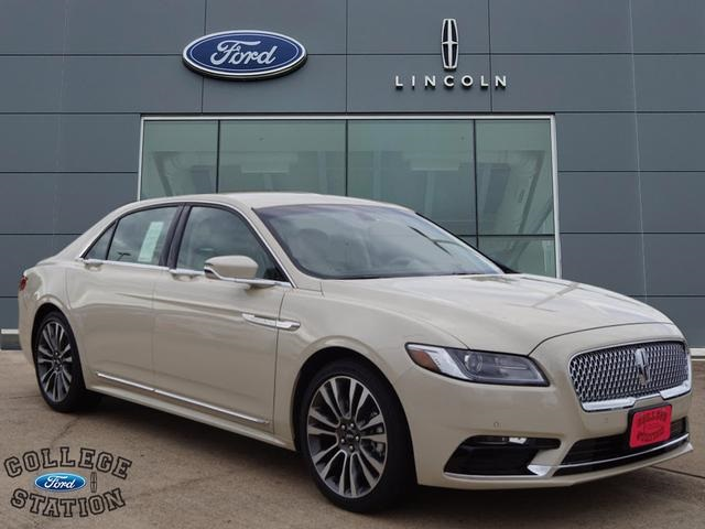 New 2018 Lincoln Continental Select 4d Sedan In College Station