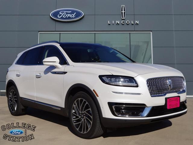 New 2019 Lincoln Nautilus Reserve 4d Sport Utility In College